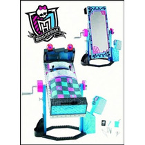 Monster High, Cama Espejo Frankie, Mattel, Original, Vbf