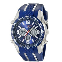 U.s. Polo Assn. Sport Us9284 Blue Analog-digital Chronograph