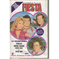 Fotonovela Fiesta: Estrellita,fortino Salazar,alberto Insua