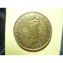 Hermosa Medalla De Notre Dame. Paris.