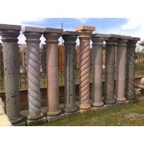 Columna De Cantera Natural De 2.40mt Alto X 30cm Ancho. Lisa