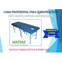 Cama De Masaje Quiropráctico!!! Profesional Para 250 Kilos