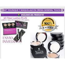 Super Paquete Younique Rimel Y Maquillaje En Crema
