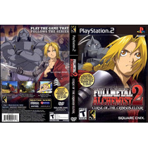 Full Metal Alquemist Curse Of The Crimson Elixir Ps2