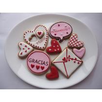 Deliciosas Galletas Decoradas 14 Febrero Amor, Amistad