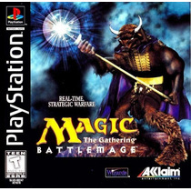 Magic The Gathering Battlemage Para Ps1 Y Ps2