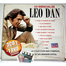 Pack Lo Esencial De Leo Dan 3 Cd´s + Dvd 60 Temas, 20 Videos