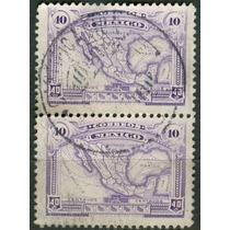 Sc 647 Año 1923 B2 Mapa De La Republica Mexicana Con Wm 156