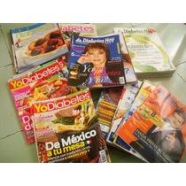 Lote Revistas Diabetes Hoy Medicina Ejercicio Salud Comida