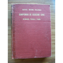 Compendio De Derecho Civil-aut-r.rojina Villegas-porrúa-mn4