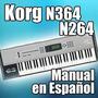 Korg N364-n264 Manual En Español