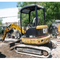 Miniexcavadora Caterpillar 303 Cr