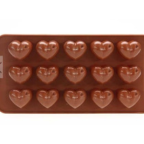 Molde Silicon Figuras Lego Bloque Corazon Chocolate Amyglo