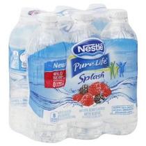 Nestlé Pure Life Splash Wild Berry 16,9 Onza Líquida (pack D