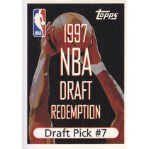 1997-98 Topps Draft Redemption Pick 7 Tim Thomas Sixers