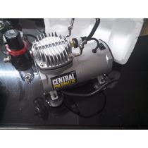 Compresor Silencioso Cental Pneumatic 1/6 Hp 58 Psi