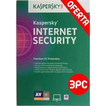 Antivirus Kaspersky Internet Security 2016 Licencia Original