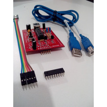 Programador De Pics + Nuevo Pic16f1827+cables+usb+asesorias