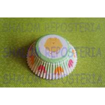 *capacillos Tulipanes Pollito Baby Wilton Cupcake Fondant*