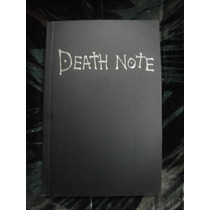 Libreta Death Note Anime Reglas Español E Inglés $100