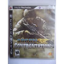 Socom Confrontation Para Playstation 3 Ps3 Completo Guerra