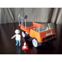 Playmobil Volteo Naranja Construccion Juguetisur !