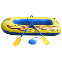 Lancha Inflable 2 Personas Bote Remos Bomba Hm4
