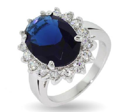 Kate Middleton Anillo De Compromiso Titanic Bodas Diamantes $1580