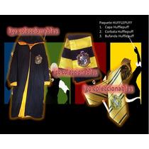 Paquete Hufflepuff Harry Potter Igo Coleccionables Eco Capa!