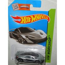 Hot Wheels Mclaren P1 Gris