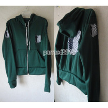 Sudadera Shingeki No Kyojin Attack On Titan Hoodie Cosplay