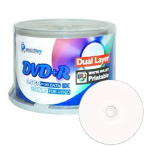 Smart Buy 50 Paquete De Dvd + R Dl 8x 8,5 Gb Dvd Plus R De D