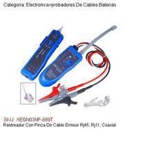Rastreador Con Pinza De Cable Emisor Rj45, Rj11, Coaxial