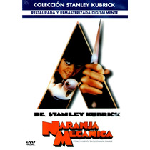 Dvd Naranja Mecanica (a Clockwork Orange) 1971 - Stanley Kub