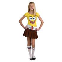 Bob Esponja Chica De Disfraces De Halloween - Teen Tamaño