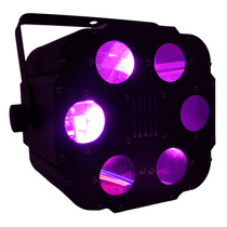 Efecto Burbujas Virtual Multicolor 6 Lentes Luz Disco Led