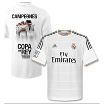 Jersey Real Madrid 2014 Campeones Copa Del Rey Conmemorativa
