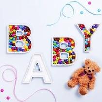 Letra Baby Shower Candy Bar Despedida Xv Catering Centro