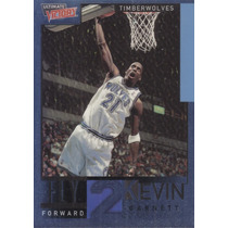 2000-01 Ultimate Victory Fly To Kevin Garnett Twolves