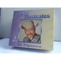 El Piporro. Joyas Musicales. 3cd.
