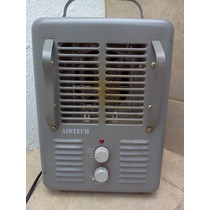 Calentador Eléctrico Airtech Calefactor Con Ventilador