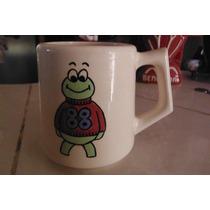 Taza Frog 88 Ceramica Vintage Retro 1976 Japon Rana Sapo