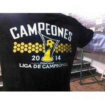 Playera Cruz Azul Campeón Concacaf 2014