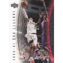 2001-02 Upper Deck Legends Allen Iverson Sixers