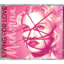 Madonna - Living For Love Cd Single (importación)
