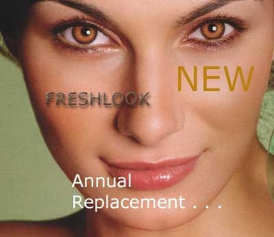 Pupilentes Fresh Look Colorblends Originales Duracion 1 ...