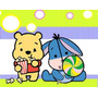 Kit Imprimible Winnie Pooh Bebe Diseñá Tarjetas Cumplea 2x1