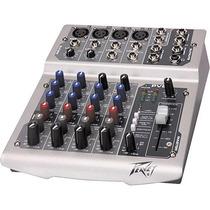 Peavey Pv6 Mezcladora De Sonido 6 Canales