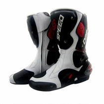 Botas Para Motociclista Tipo Pista Racing, Pro Bikers Speed