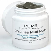 Barro Del Mar Muerto Mascarilla Facial + Bonus Ebook - Acné